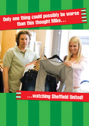 Only one thing could possibly be worse than this thought Mike... ...watching Sheffield United!